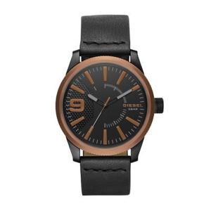 Diesel DZ1841 Horlogeband Zwart Leer