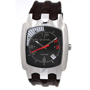 Diesel DZ4117 Horlogeband Bruin Leer