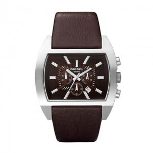 Diesel DZ4138 Horlogeband Bruin Leer