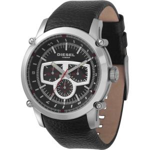Diesel DZ4150 Horlogeband Zwart Leer