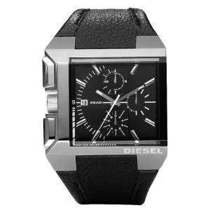 Diesel DZ4172 Horlogeband Zwart Leer