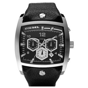Diesel DZ4183 Horlogeband Zwart Leer