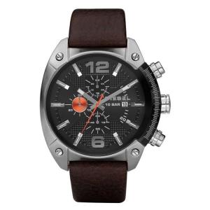 Diesel DZ4204 Horlogeband Bruin Leer