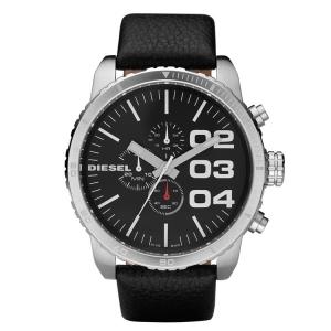 Diesel DZ4208 Horlogeband Zwart Leer