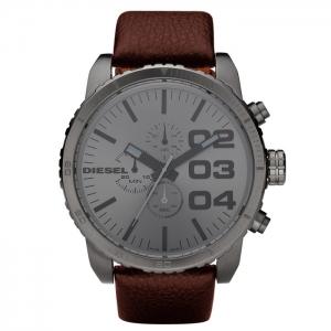 Diesel DZ4210 Horlogeband Bruin Leer