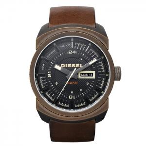 Diesel DZ4239 Horlogeband Bruin Leer