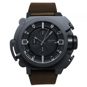 Diesel DZ4243 Horlogeband Zwart Leer