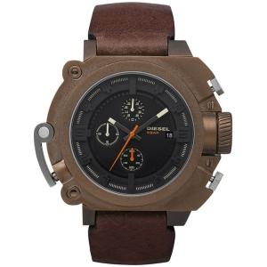 Diesel DZ4245 Horlogeband Bruin Leer
