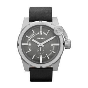 Diesel DZ4271 Horlogeband Zwart Leer