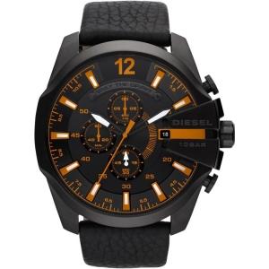 Diesel DZ4291 Horlogeband Zwart Leer