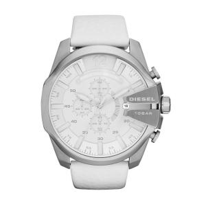 Diesel DZ4292 Horlogeband Wit Leer