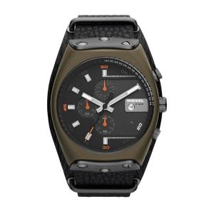Diesel DZ4295 Horlogeband Zwart Leer