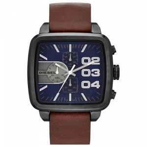 Diesel DZ4302 Horlogeband Bruin Leer