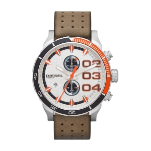 Diesel DZ4310 Horlogeband Bruin Leer