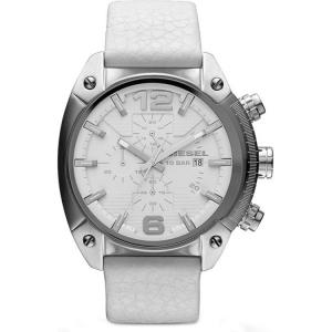 Diesel DZ1450 Horlogeband Wit Leer