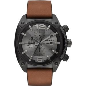 Diesel DZ4317 Horlogeband Bruin Leer