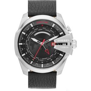 Diesel DZ4320 Horlogeband Zwart Leer