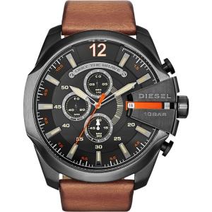 Diesel DZ4343 Horlogeband Bruin Leer