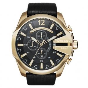 Diesel DZ4344 Horlogeband Zwart Leer