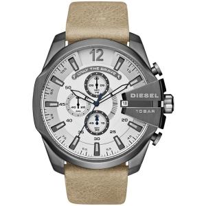 Diesel DZ4359 Horlogeband Beige Leer