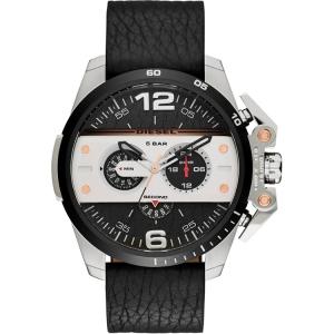 Diesel DZ4361 Horlogeband Zwart Leer