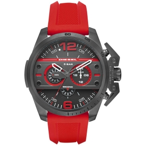 Diesel DZ4388 Horlogeband Rood Rubber