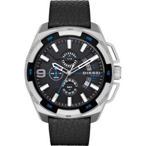 Diesel DZ4392 Horlogeband Zwart Leer
