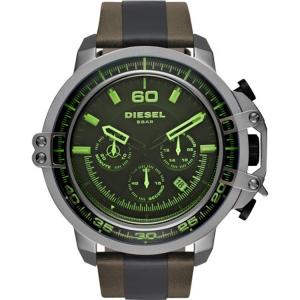 Diesel DZ4407 Horlogeband Bruin Zwart Leer