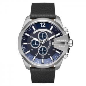 Diesel DZ4423 Horlogeband Zwart Leer