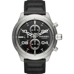 Diesel DZ4439 Horlogeband Zwart Leer