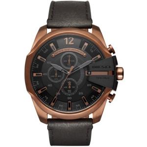 Diesel DZ4459 Horlogeband Zwart Leer