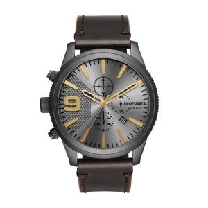 Diesel DZ4467 Horlogeband Bruin Leer