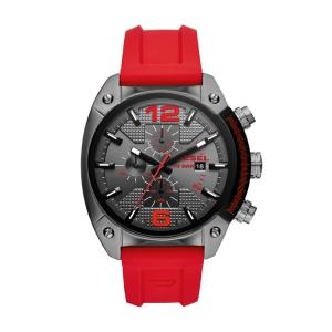 Diesel DZ4481 Horlogeband Rood Rubber