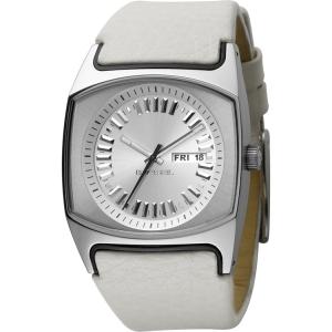 Diesel DZ5165 Horlogeband Wit Leer