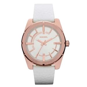 Diesel DZ5342 Horlogeband Wit Leer