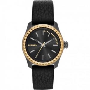 Diesel DZ5408 Horlogeband Zwart Leer