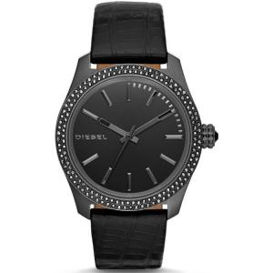 Diesel DZ5436 Horlogeband Zwart Leer