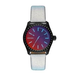 Diesel DZ5459 Horlogeband Zilver Leer