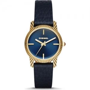 Diesel DZ5514 Horlogeband Blauw Leer