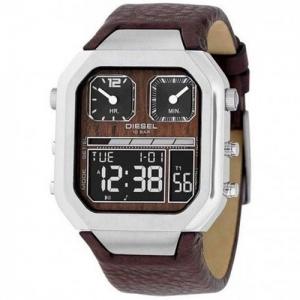 Diesel DZ7064 Horlogeband Bruin Leer