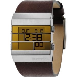 Diesel DZ7071 Horlogeband Bruin Leer