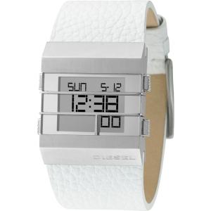 Diesel DZ7087 Horlogeband Wit Leer