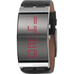 Diesel DZ7092 Horlogeband Zwart Leer