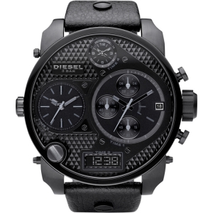 Diesel DZ7193 Horlogeband Zwart Leer