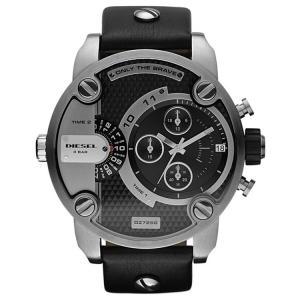 Diesel DZ7256 Horlogeband Zwart Leer