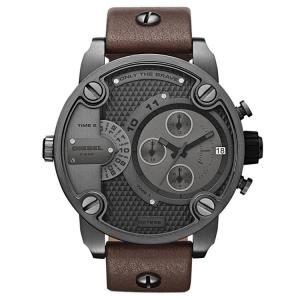 Diesel DZ7258 Horlogeband Bruin Leer
