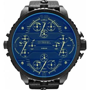 Diesel DZ7262 Horlogeband Zwart Leer