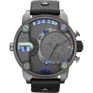 Diesel DZ7270 Horlogeband Zwart Leer