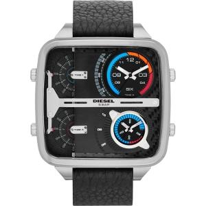 Diesel DZ7283 Horlogeband Zwart Leer