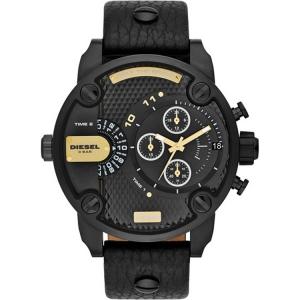 Diesel DZ7286 Horlogeband Zwart Leer